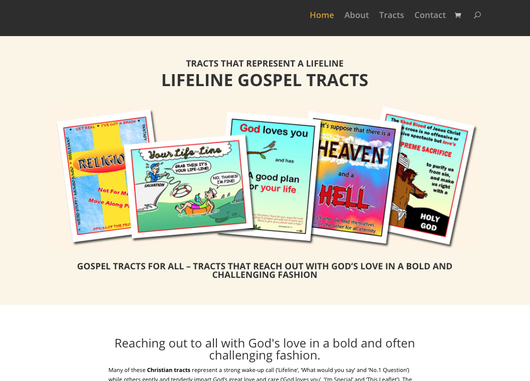 Lifeline Gospel Tracts